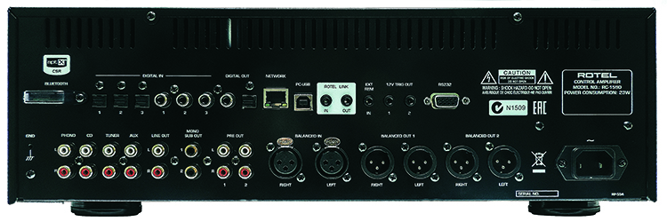 rotel rc 1590 preamp review