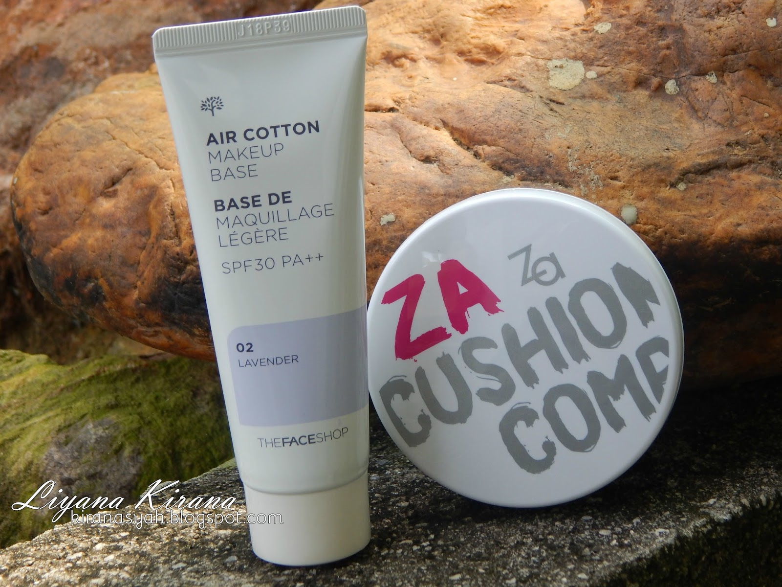 za true white cushion compact review