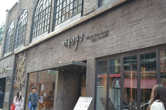 maple tree house myeongdong review