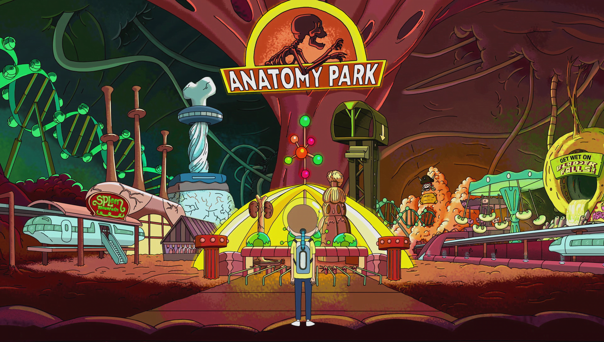 rick and morty anatomy park game review