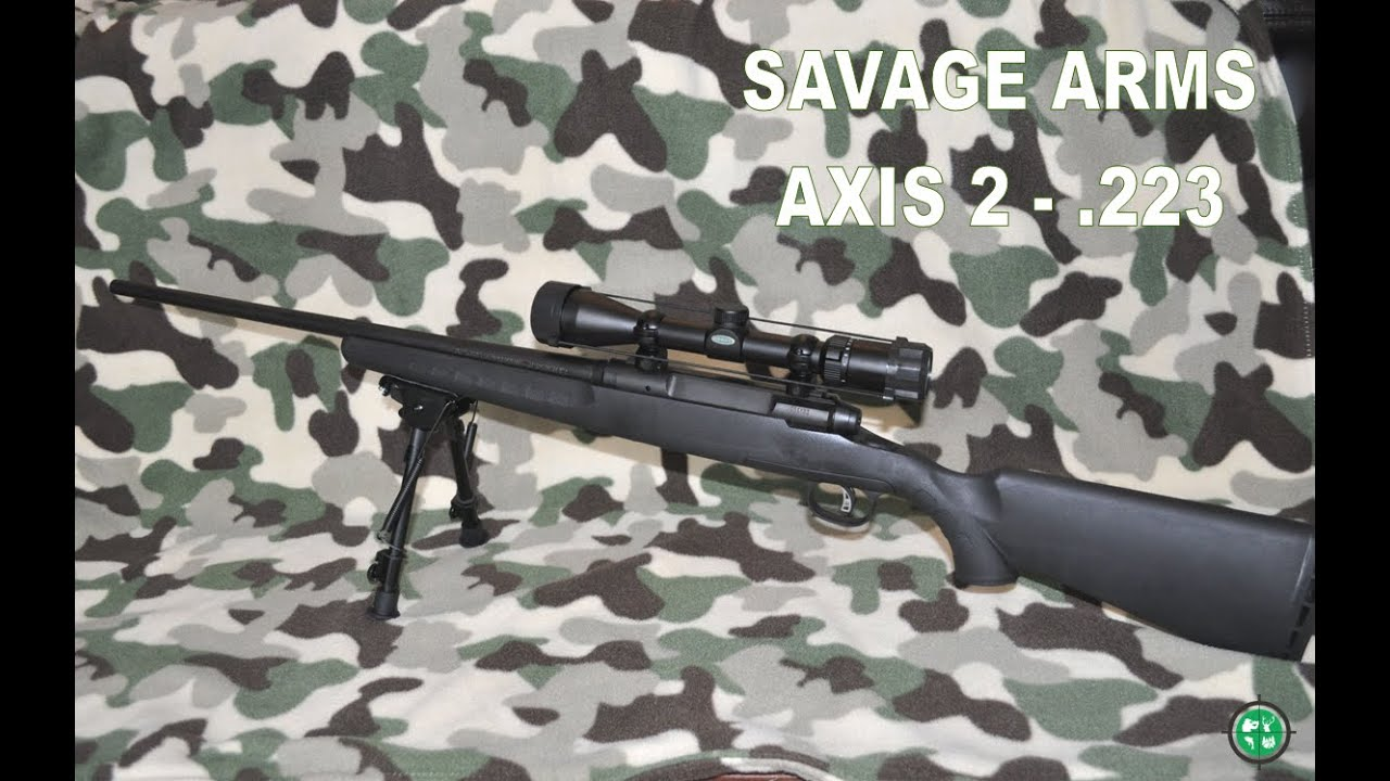 savage axis 223 review youtube