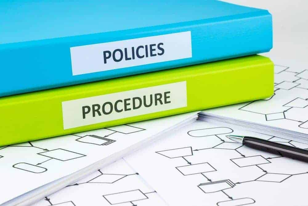 procedure for reviewing policies and procedures