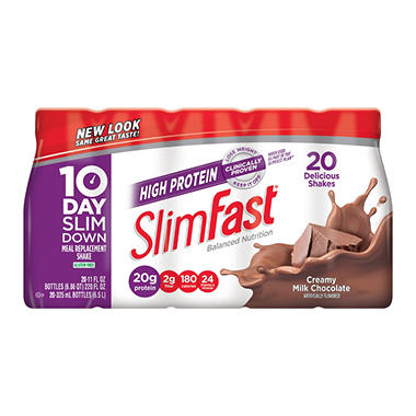 slim fit protein shake review
