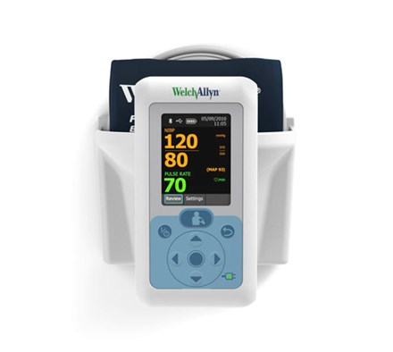 welch allyn blood pressure monitor review