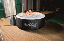 saluspa palm springs airjet inflatable 6 person hot tub review