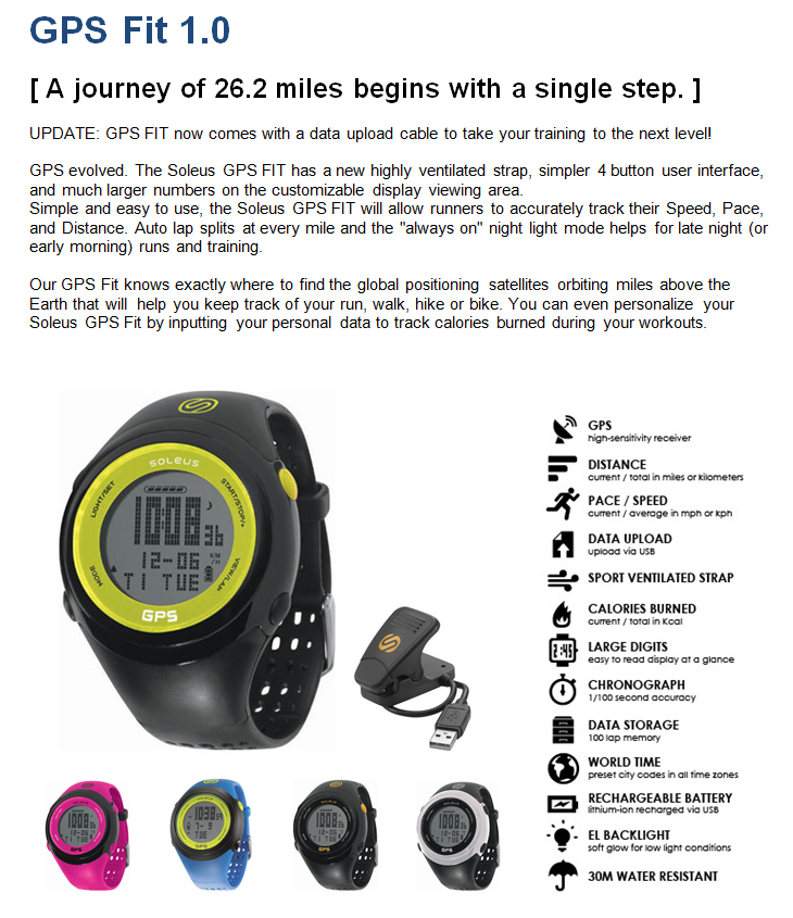 soleus gps cross country review