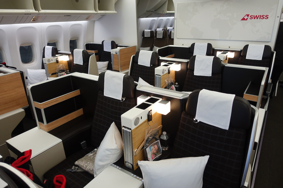 swiss air miami to zurich review