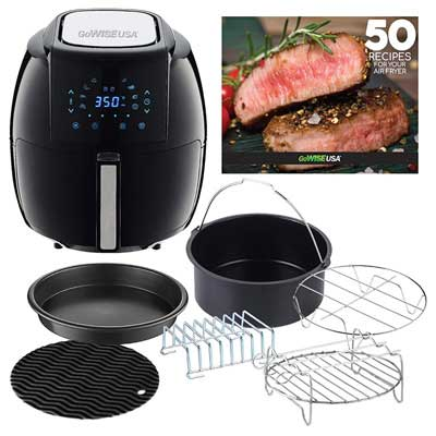 smart chef air fryer review