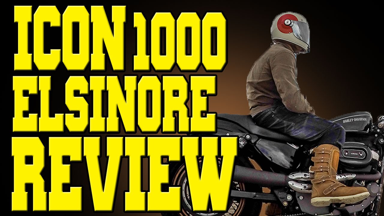 icon 1000 elsinore hp boots review