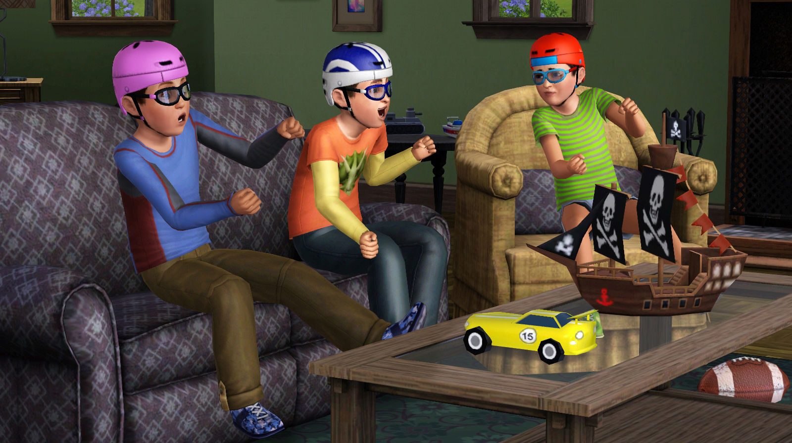 lazy game reviews sims 3 generations