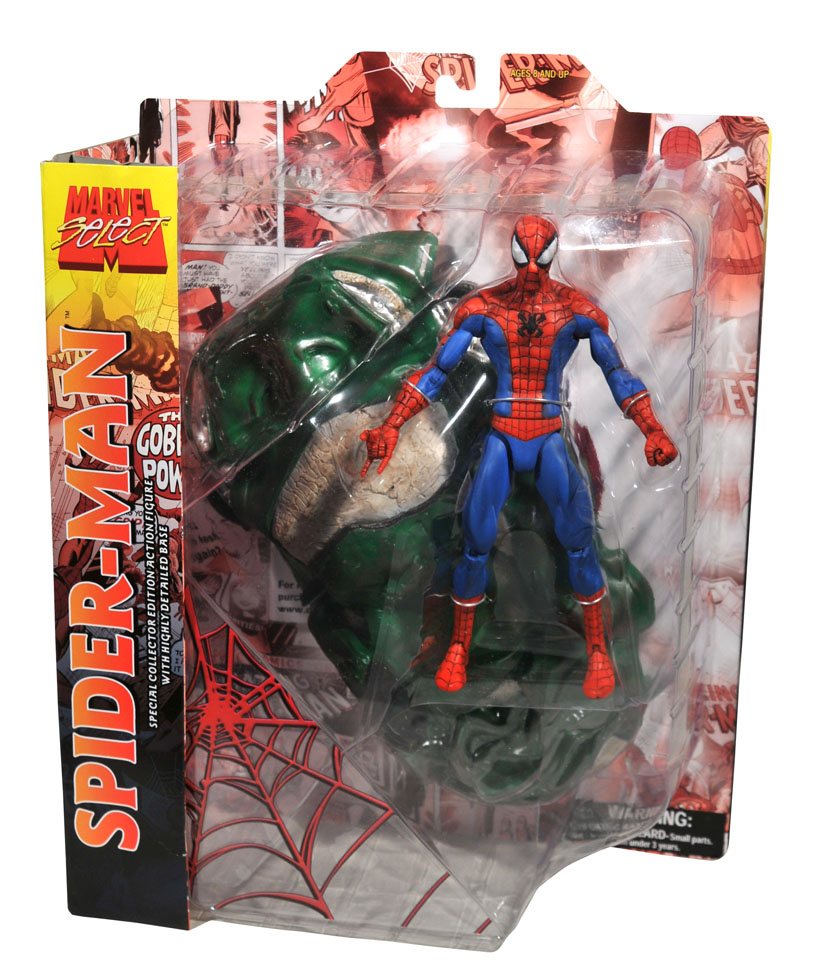 marvel select spider man review
