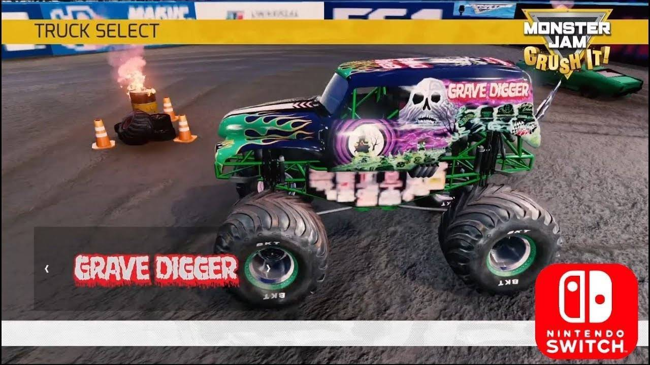 monster jam crush it switch review