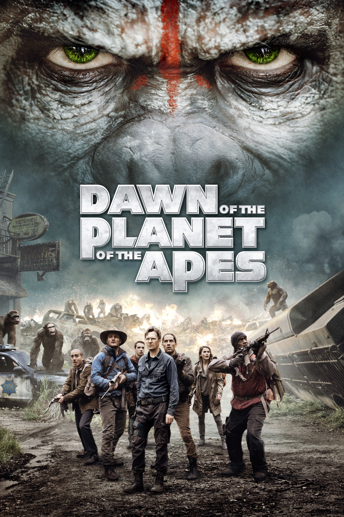 planet of the apes review 2014