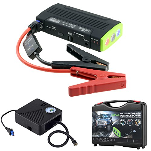 portable battery charger air compressor combo reviews