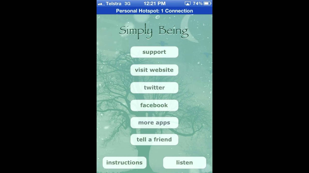 simply being meditation app review