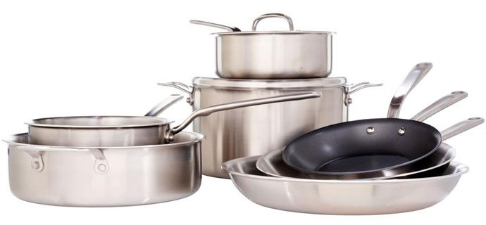 stainless steel cookware made in usa reviews