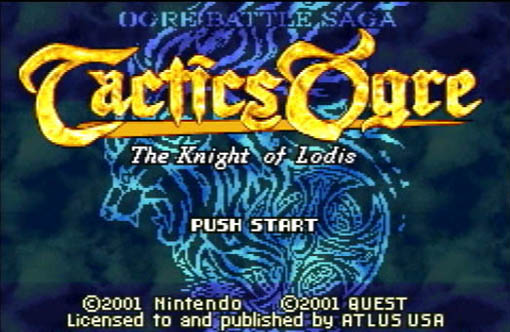 tactics ogre the knight of lodis review